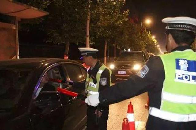 西安新城交警5小时查处酒驾13例 均为男性青年