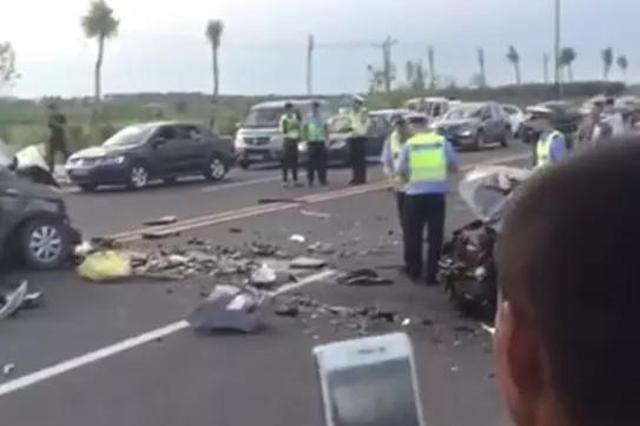 渭河边两车相撞死了好几人?西安交警回应......