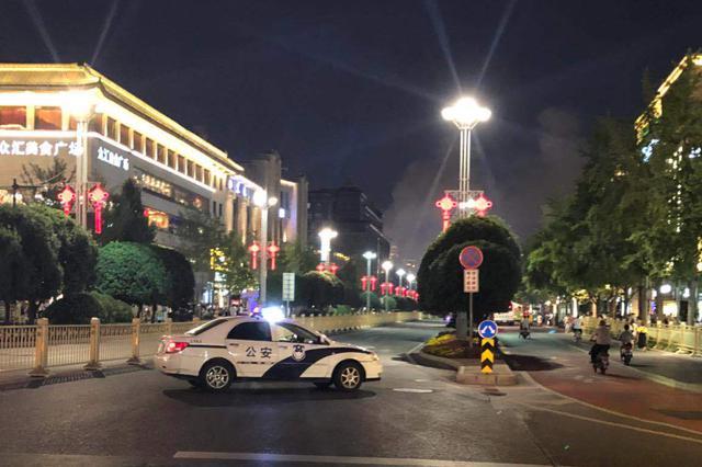 西安南大街火灾明火已控制 无人员伤亡