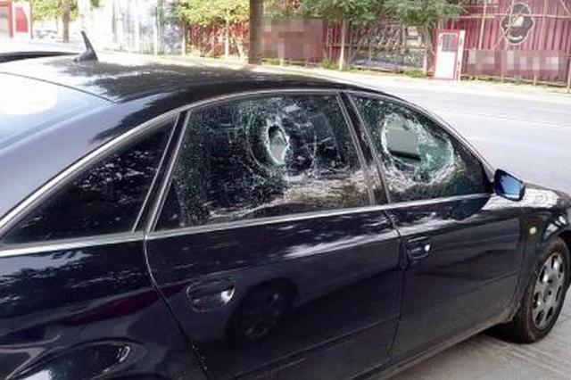 商洛一天内25辆车玻璃被砸财物被盗 4名嫌疑人落网