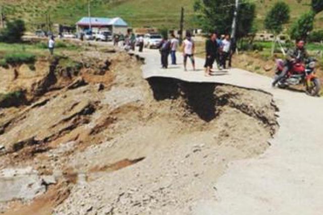 持续降雨致陕西多地遭受洪涝灾害 8日雨再来