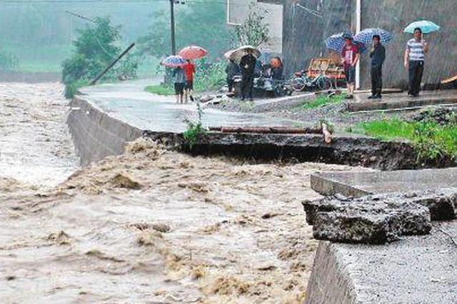 渭河洪水致渭南10万多人受灾 直接经济损失1.35亿元