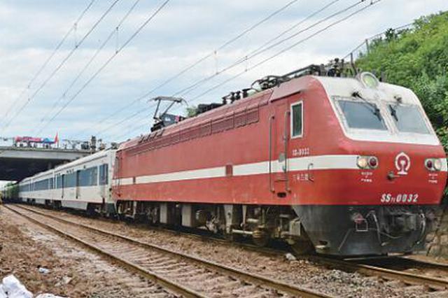 受宝成铁路水害影响 18趟入川普速列车今停运