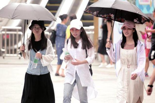 陕西省气象台解除高温蓝色预警 明天立秋本周多雷雨