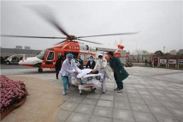 """直升机转送病人请呼叫""""120"""" 每小时4万到7万元"""