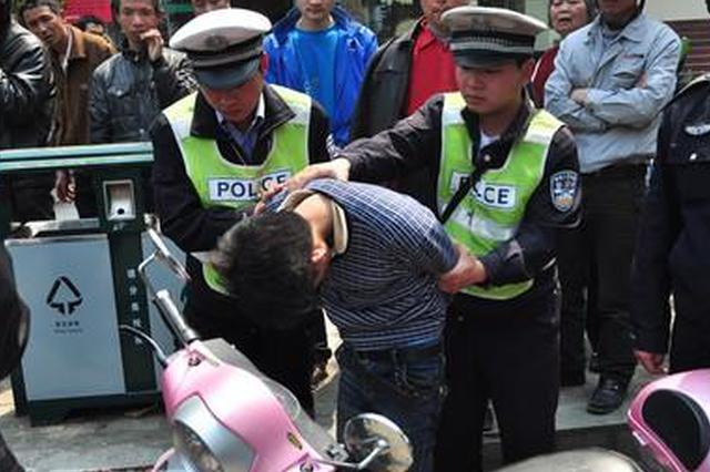 西安警方发布小案警情 小偷技术开锁盗窃电动车