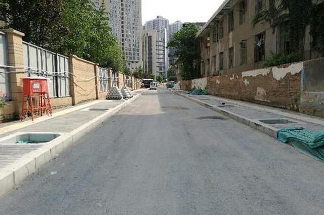 解家村规划路今日通车 较年初计划提前4个月