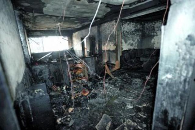 家中失火七旬老人不幸身亡 起火原因正在调查