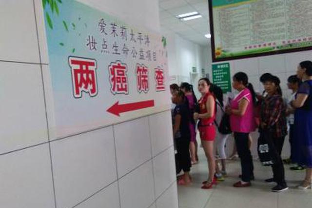 """西安适龄妇女下月起可享免费筛查""""两癌""""服务"""