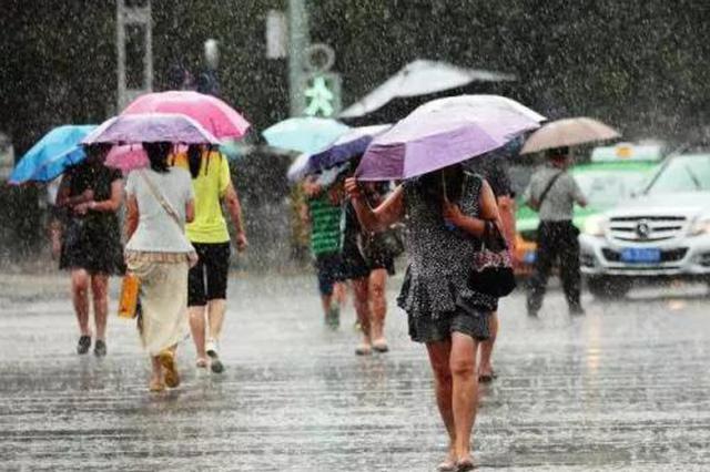 陕西省6市部分地区有暴雨 西安今天小到中雨
