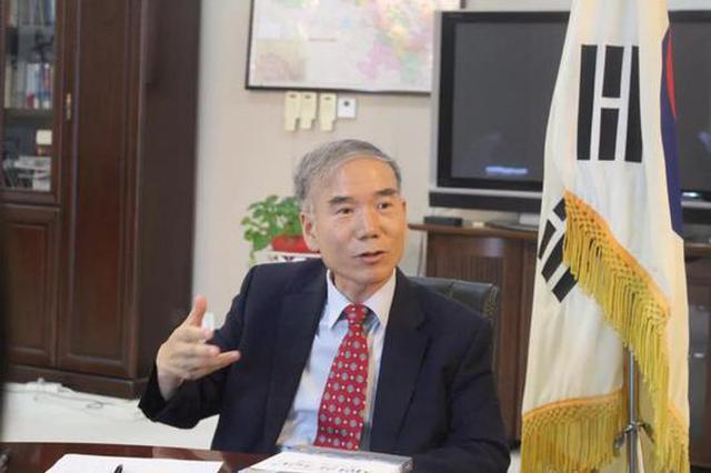 ▲韩国驻西安总领事李康国