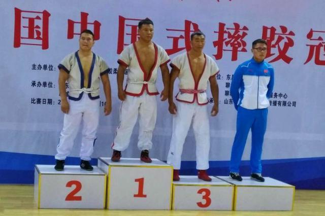 全国中国式摔跤冠军赛落幕 陕西选手获3金1银6铜