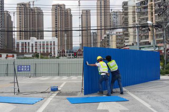 桃园路(丰庆路至大庆路段)今起围挡施工 工期8个月
