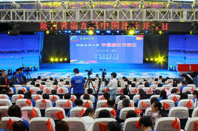 """陕西举办""""中国统计开放日"""" 为经济发展""""体检"""""""