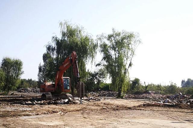 长安区累计拆除违建别墅352套 共计17.3万平方米