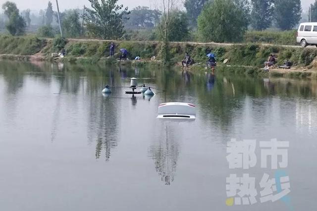 西安男子驾车冲进鱼塘 司机上岸走、奥迪泡一宿