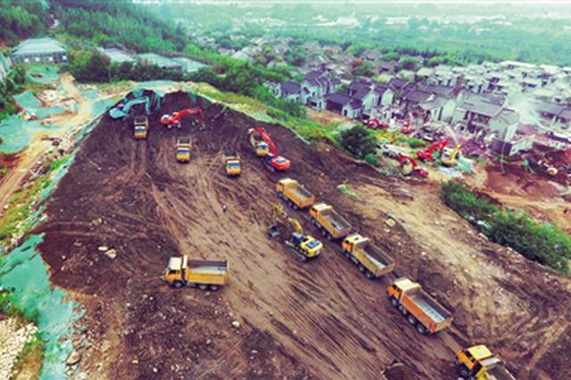 拆违力度不减复绿同步推进 西安院子二期拆除启动