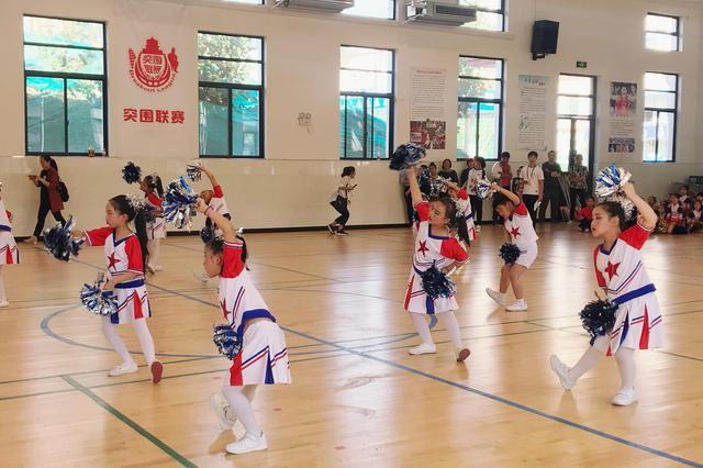 碑林区中小学健美操 啦啦操比赛隆重开幕