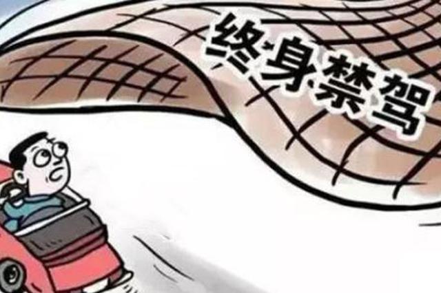 """西安交警公布一份终身禁驾名单 13人""""上榜"""""""