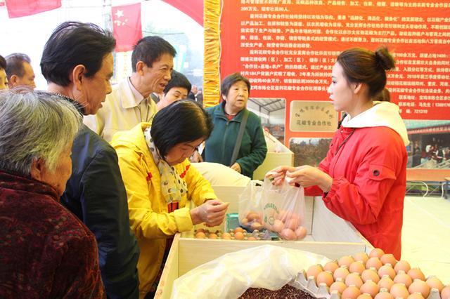 宝鸡西山农特产品展销火热 绿色生态产业助力脱贫