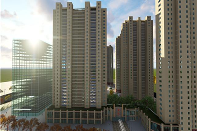 西安市雁塔区大寨村城中村改造项目安置楼开建