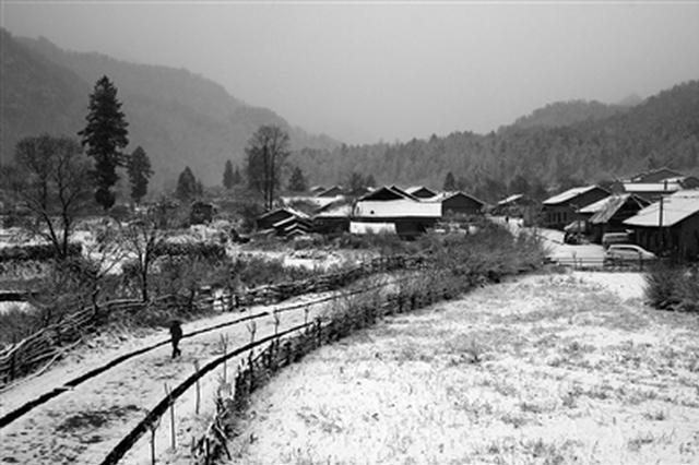 周至老县城下雪 今明陕西持续阴雨西安最低温0℃
