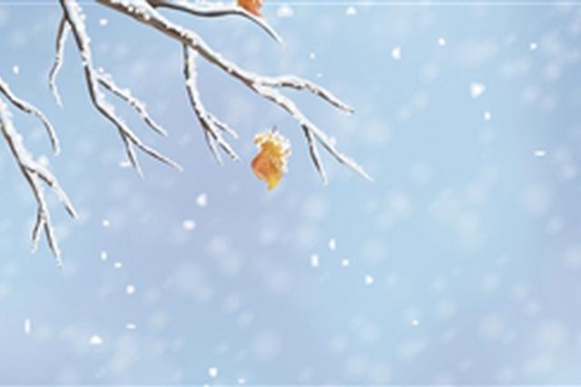 今天立冬西安明天最低温0℃ 陕西多地飘雪