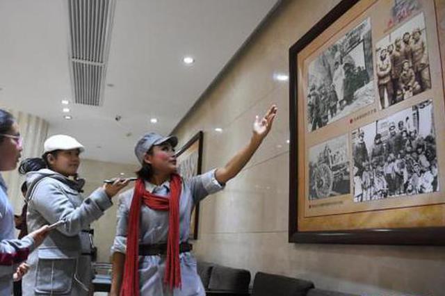 陕西延安:舞台剧成为红色教育新课堂