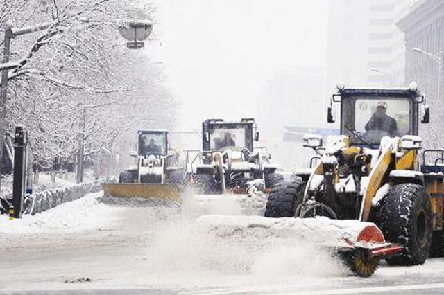 西安组建19支专业除雪工作队 保障突发事件应急处理