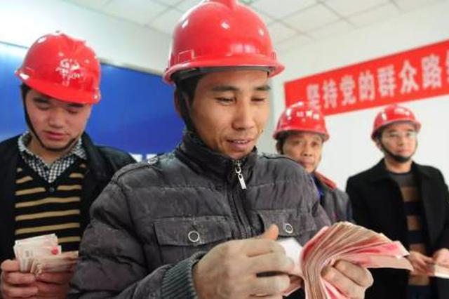80农民工工资被拖欠 先支付30万剩余年底停工前支付
