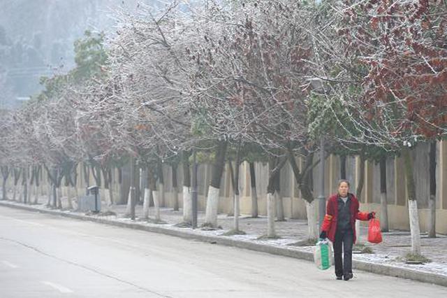西安低温持续今天最低温-4℃ 13日前依旧冷冷冷
