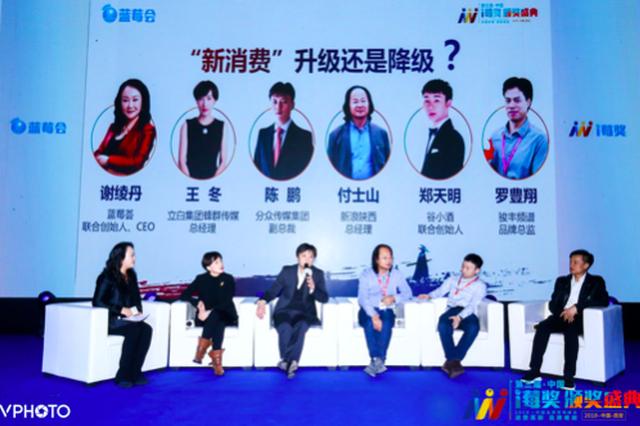 第三届中国i莓奖颁奖盛典暨品牌营销峰会