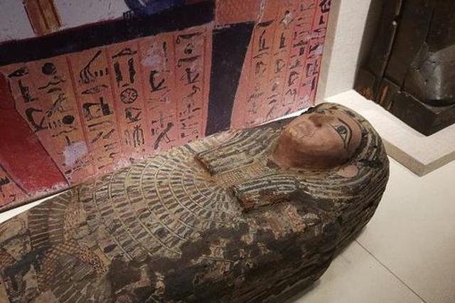 100件古埃及文物及木乃伊西安展出 将持续到明年3月20日