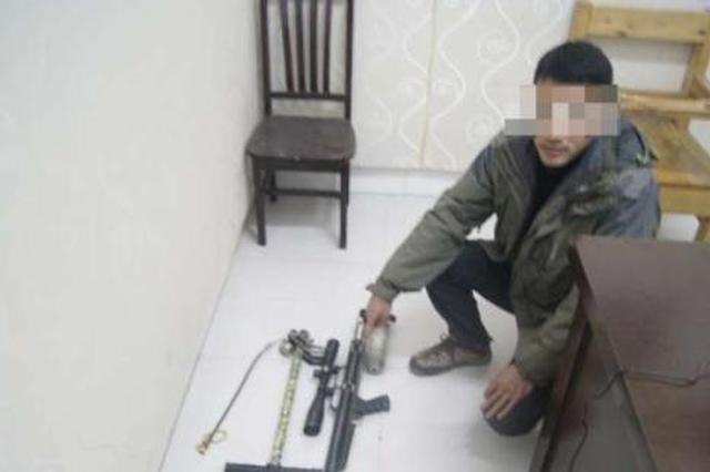 男子非法购置气枪准备去打鸟 被行政拘留5日