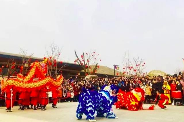 """""""西安年·最中国、周原年·最传统"""",你来了吗?"""