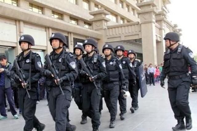 西安万余警力确保春节安全 抓获各类嫌疑人1229人