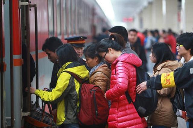 陕西铁路返程客流持续高位运行 加开旅客列车43列