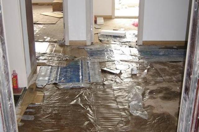 市民新房还未住被水淹 与物业多次协商未果