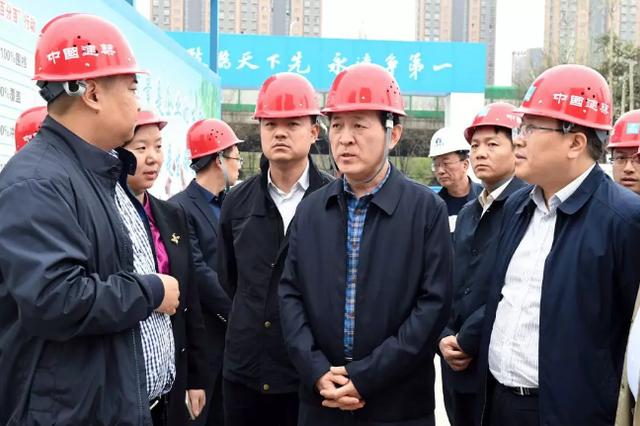 雁塔区委书记赵小林调研重点项目建设工作
