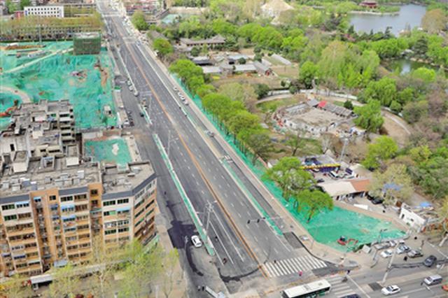 经九路(咸宁路—永乐北路)即将通车 全长1.76公里