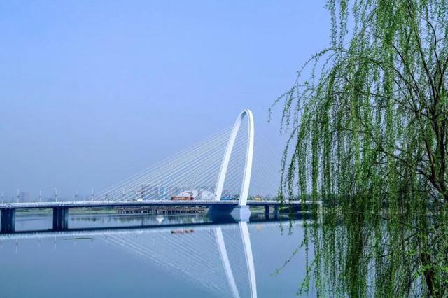 """""""新宠""""驾到~又一高颜值新桥即将横亘灞河"""