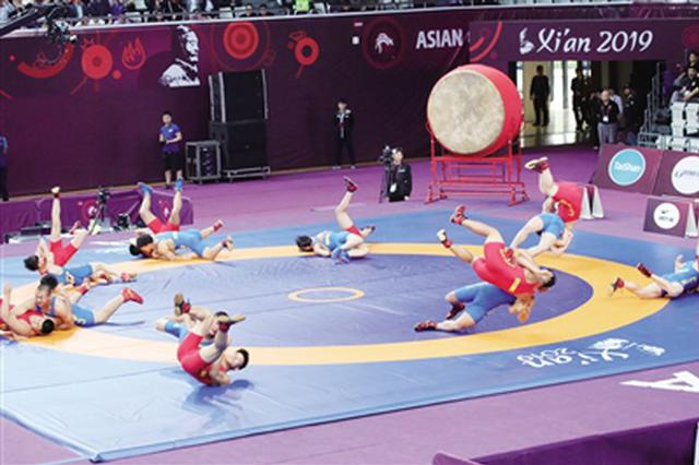 亚洲摔跤锦标赛古城开幕 陕西省两员虎将力争奖牌