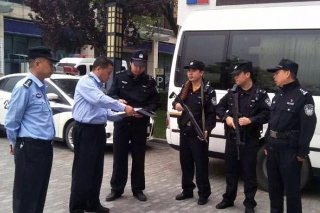 """""""五一""""假期 西安浐灞警方加强管控力度 护航平安"""