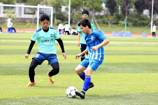 第三届国际青少年足球邀请赛在西大附中浐灞中学举行