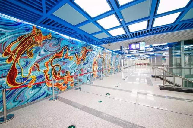 官宣!西安地铁五、六号线重点车站设计方案曝光!