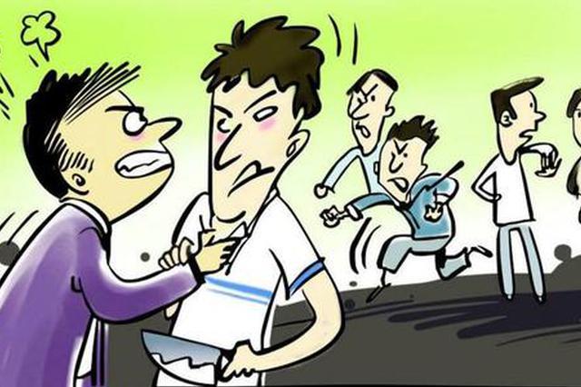 与人发生口角找朋友出气 三人涉嫌故意伤害他人被捕