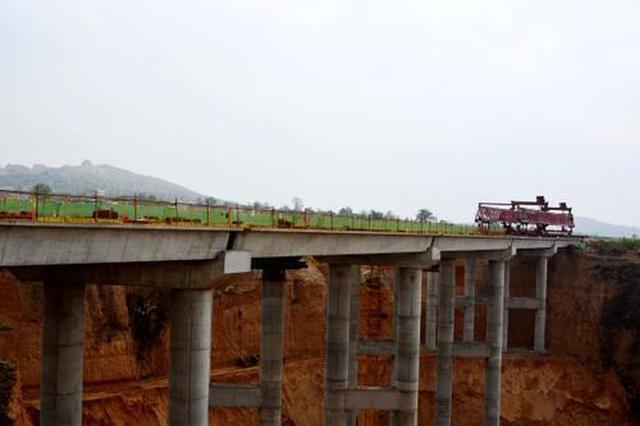 黄龙白水两县将告别零高速 黄蒲高速上王沟大桥贯通