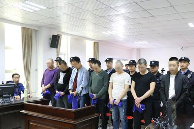 太白法院公开宣判首起涉恶案件 7名恶势力团伙成员获刑