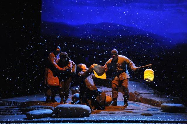 话剧《柳青》亮相第十二届中国艺术节舞台
