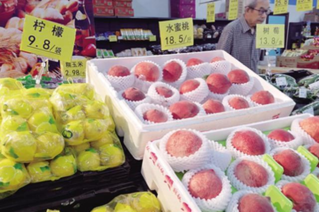 西安果蔬价格攀升 苹果12元/斤 豆角4.5元/斤